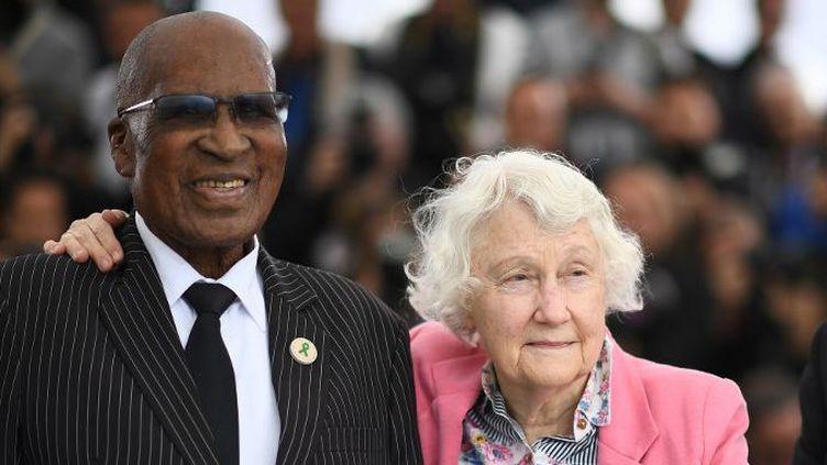 Andrew Mlangeni a passé 27 ans derrière les barreaux (ANNE-CHRISTINE POUJOULAT / AFP)