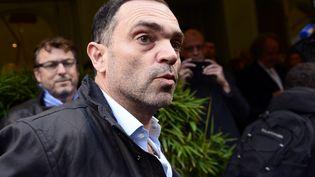 L'écrivain Yann Moix, le 4 novembre 2013 à Paris. (ERIC FEFERBERG / AFP)