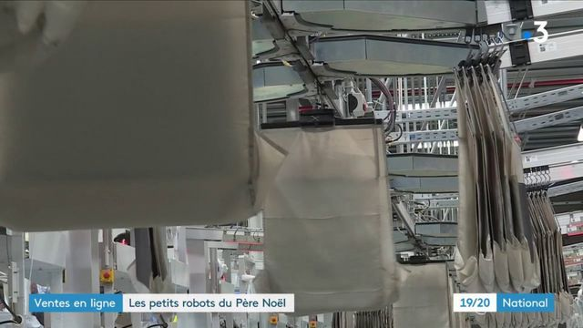 Ventes en ligne : des robots pour remplacer les lutins du Père Noël