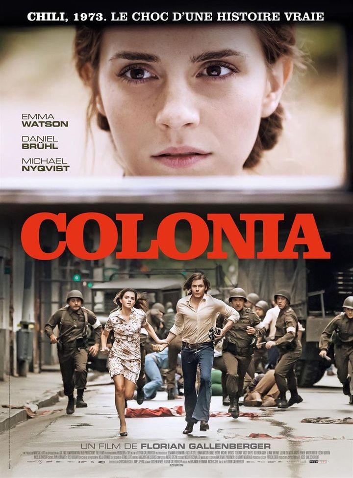 """""""Colonia"""" : l'affiche française  (Rezo Films)"""