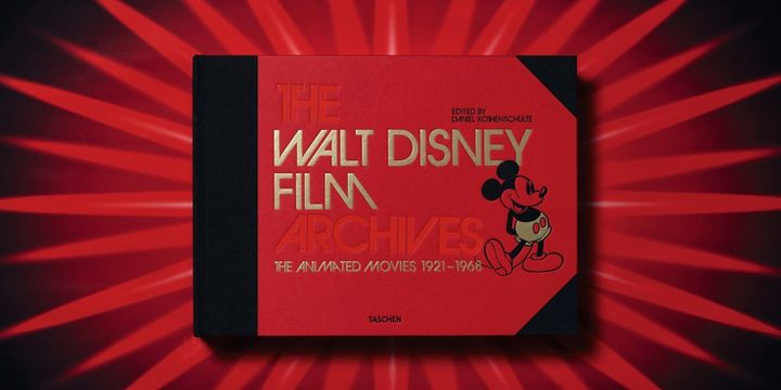 Disney Film Archives : 1re de couverture  (Taschen)