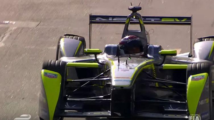 (Formula E 2015 - Round06 USA Long Beach ©  Capture d'écran FIA)