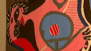 L'une des tapisseries d'après Picasso  (France 3 / Culturebox)