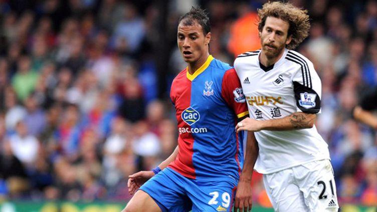 Marouane Chamakh (Crystal Palace) (OLLY GREENWOOD / AFP)
