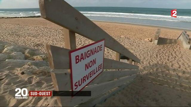 Sud-ouest : baignades dangereuses