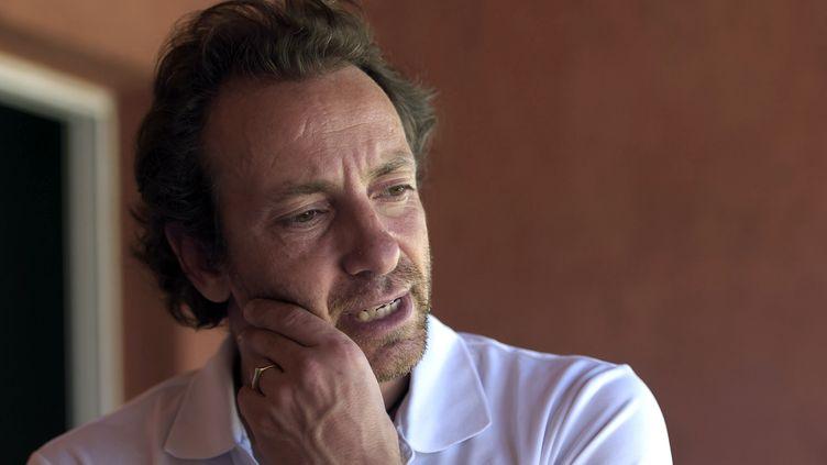 Philippe Candeloro, en mars 2015 en Argentine. (JUAN MABROMATA / AFP)