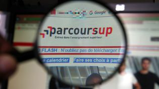 Depuis mardi 22 mai, les lycéens ont accès à leurs attributions sur Parcoursup. Contrairement à APB, la plateforme est actualisée de manière quotidienne (JULIO PELAEZ / MAXPPP)