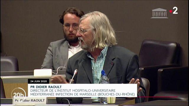 Coronavirus : devant la commission d'enquête, le Pr Raoult a-t-il menti ?