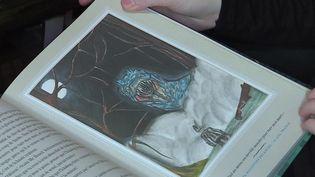 Le dessin de Méloée publié dans Ickabog, le dernier livre de JK Rowling. (France info)