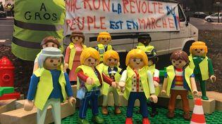 """Les """"gilets jaunes"""" manifestent, partout en France, depuis le 17novembre 2018. (GUILLEMETTE JEANNOT / FRANCEINFO)"""