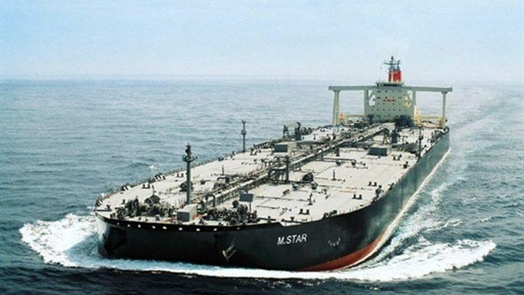 Le pétrolier M.Star, victime d'une tentative d'attentat, selon les Emirats (photo du (AFP)