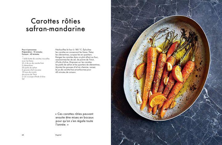 """Pages intérieures de """"Cuisine"""", de Stéphanie Le Quellec (CHÊNE EDITIONS)"""