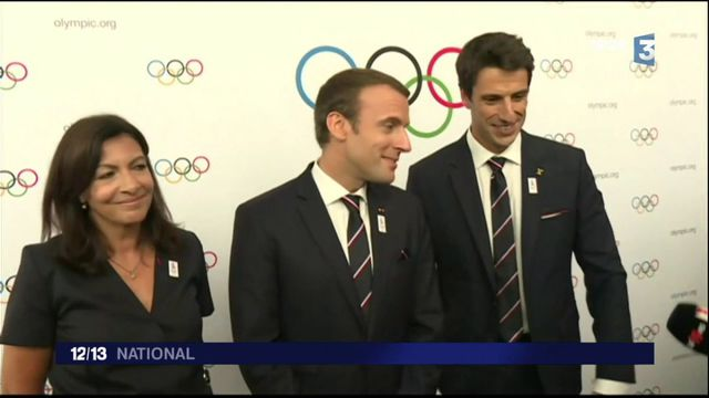 Jeux Olympiques : Emmanuel Macron était orateur