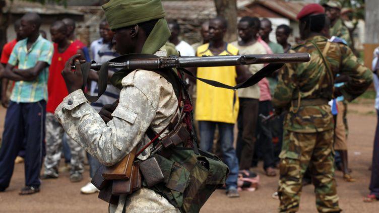 Un soldat tchadien à Bangui (Centrafrique), le 9 décembre 2013. (REUTERS)