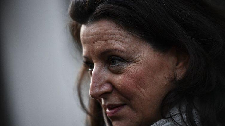 Agnès Buzyn à Paris le 18 février 2020 à Paris. (CHRISTOPHE ARCHAMBAULT / AFP)