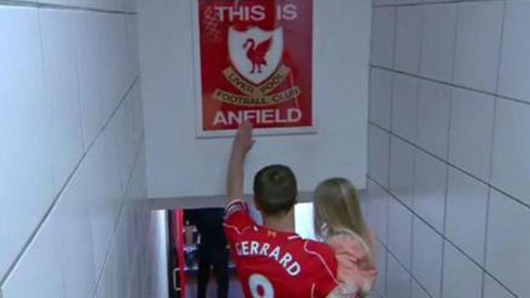 Steven Gerrard fait ses adieux à Anfield Road