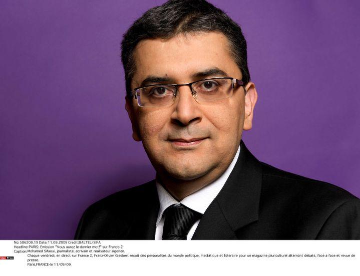 Mohamed Sifaoui, le 11 septembre 2009 à Paris. (BALTEL / SIPA)