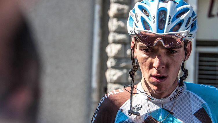 Romain Bardet, à l'arrivée de Bagnères de Luchon.  (PICASA)