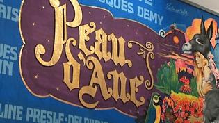 """Des affiches peintes à la main par André Azaïs, comme ici celle de """"Peau d'Ane"""" de Jacques Demy en 1970.  (France 3 / Culturebox)"""