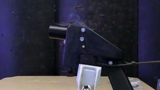 L'inquiétude semble progresser dans plusieurs pays sur la possibilité de fabriquer une arme grâce aux nouvelles imprimantes 3D. (FRANCE 2)