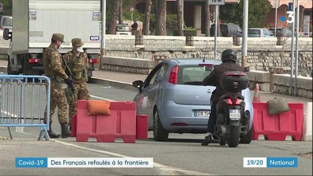 Coronavirus : des Français refoulés à la frontière italienne