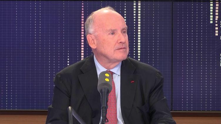 Dominique Bussereau invité du 18h50 politique de franceinfovendredi 24 avril. (FRANCEINFO / RADIOFRANCE)