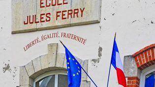 L'école Jules-Ferry, à Vannes (Morbihan), le 4 novembre 2017. (GILE MICHEL / SIPA)