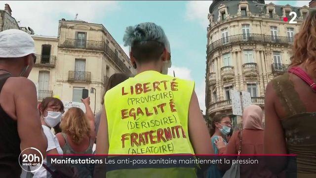 Manifestation contre le pass sanitaire : 160 000 personnes dans les rues