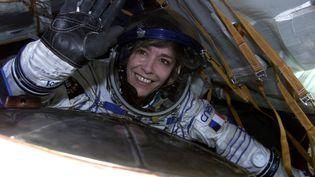 Claudie Haigneré, seule femme française à avoir été dans l'espace (MIKHAIL GRACHYEV ESA/CNES)