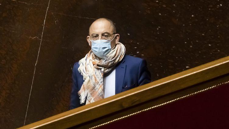 Le député LREM de l'EureBruno Questel, le 6 avril 2021. (VINCENT ISORE / MAXPPP)