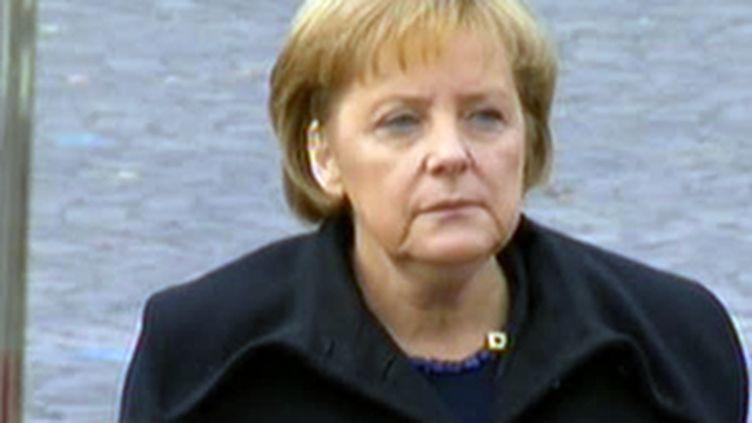 Angela Merkel, chancelière allemande. (France 2)