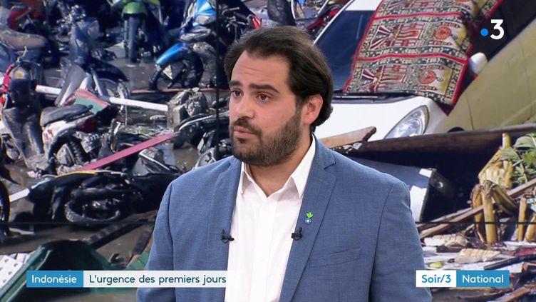 Dorian Dreuil d'Action contre la faim (France 3)