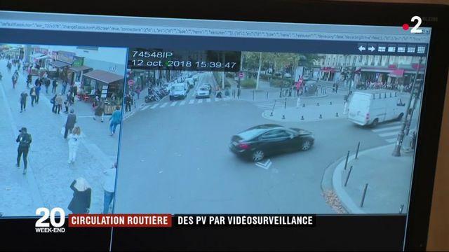 Circulation routière : des PV par vidéosurveillance