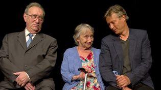Une comédie entre rire et larmes avec Gérard Chaillou (le directeur), Françoise Bertin (la maman) et Laurent d'Olce (le fils)  (Joseph Caprio)
