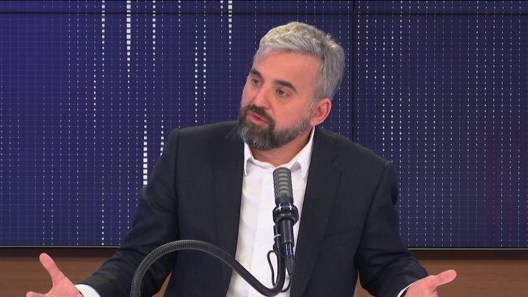 Alexis Corbière, député La France insoumise de Seine-Saint-Denis, dimanche 21 mars sur franceinfo.  (FRANCEINFO / RADIO FRANCE)