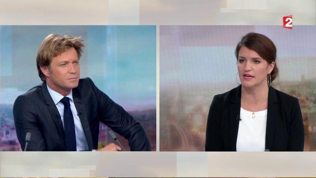 "VIDEO. Affaire Weinstein : ""La honte doit changer de camp"", martèle Marlène Schiappa"