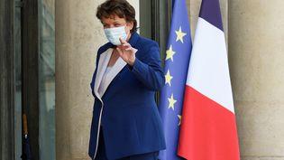 La ministre de la Culture, Roselyne Bachelot lors d'un conseil des ministres, à Paris, le 19 juillet 2021. (DANIEL PIER / NURPHOTO / AFP)