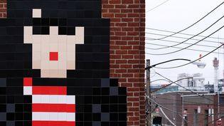 Invader interpellé à New York a été relâché  (JEWEL SAMAD / AFP)