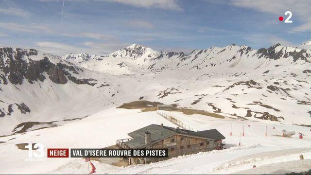 Neige : Val-d'Isère rouvre des pistes