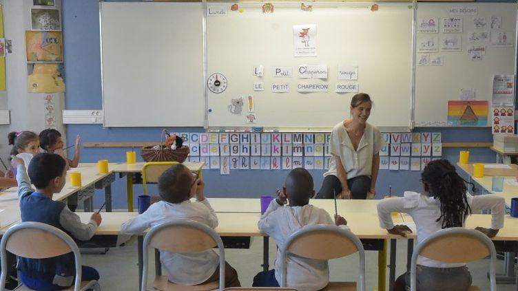 Près de 12 millions d'élèves français ont fait leur rentrée ce lundi 3 septembre. (PASCAL PAVANI / AFP)