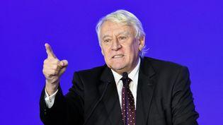 Claude Goasguen, député du 16e arrondissement de Paris (Les Républicains),le 18 novembre 2019 à Paris. (DANIEL PIER / NURPHOTO / AFP)