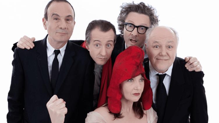 Marc Jolivet, Gérard Miller, Christophe Barbier et Claude Posternak prennent le pouls de Marianne !  (Salle Gaveau)