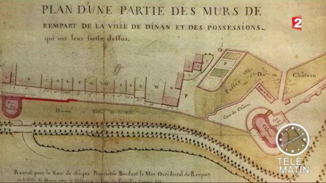Dinan : la commune à la recherche des propriétaires des remparts