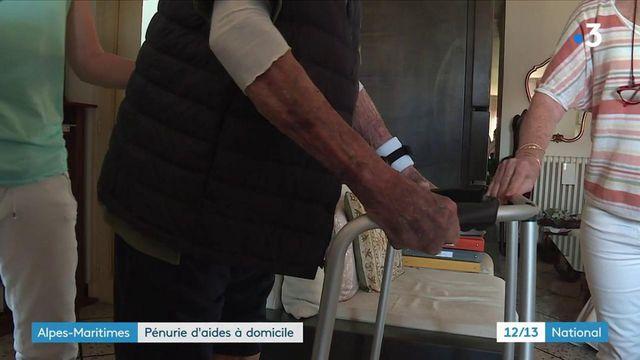 Métiers : pénurie d'auxiliaires de vie en France