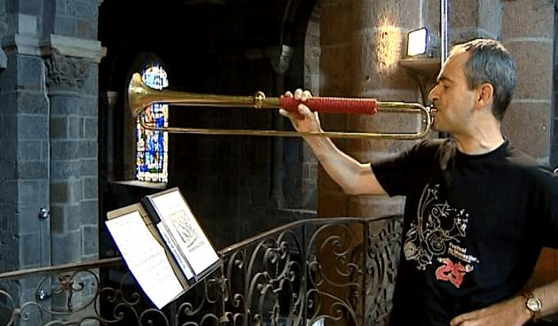 Une trompette du XVIIème siècle  (France 3)