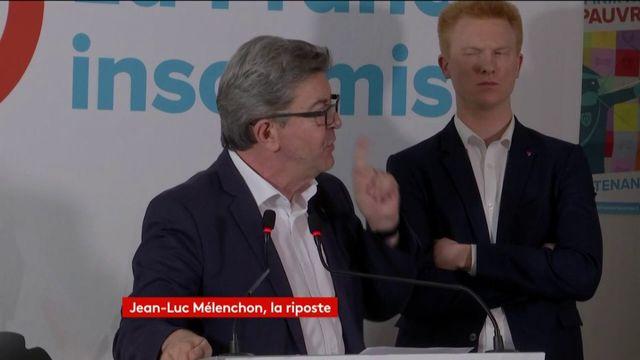 Comptes de campagne : la réaction de Mélenchon à l'enquête de Radio France