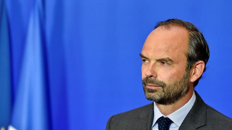 Le Premier ministre Edouard Philippe lors d'une conférence de presse à Matignon, le 6 juin 2017 à Paris. (ALAIN JOCARD / AFP)