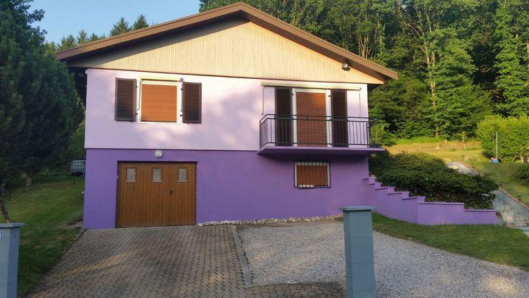 Le domicile de Jacqueline Jacobd'Aumontzey, dans les Vosges. (RADIO FRANCE / GILLES GALLINARO)