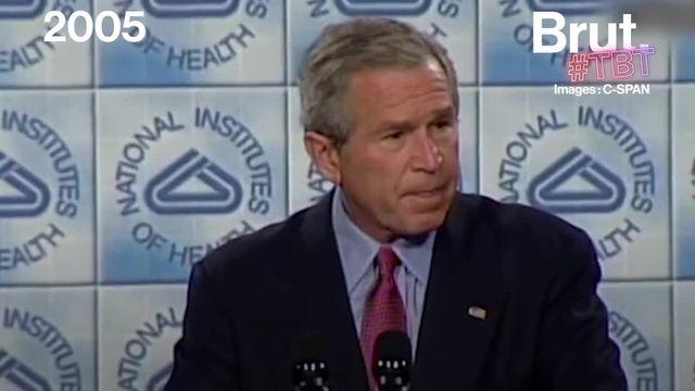 En novembre 2005, George W. Bush alors Président des États-Unis, présentait un plan de lutte contre une possible pandémie de grippe aviaire.