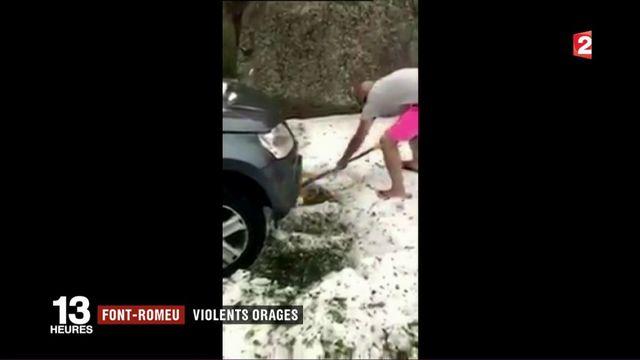 Intempéries dans les Pyrénées-Orientale : Font-Romeu victime de violents orages